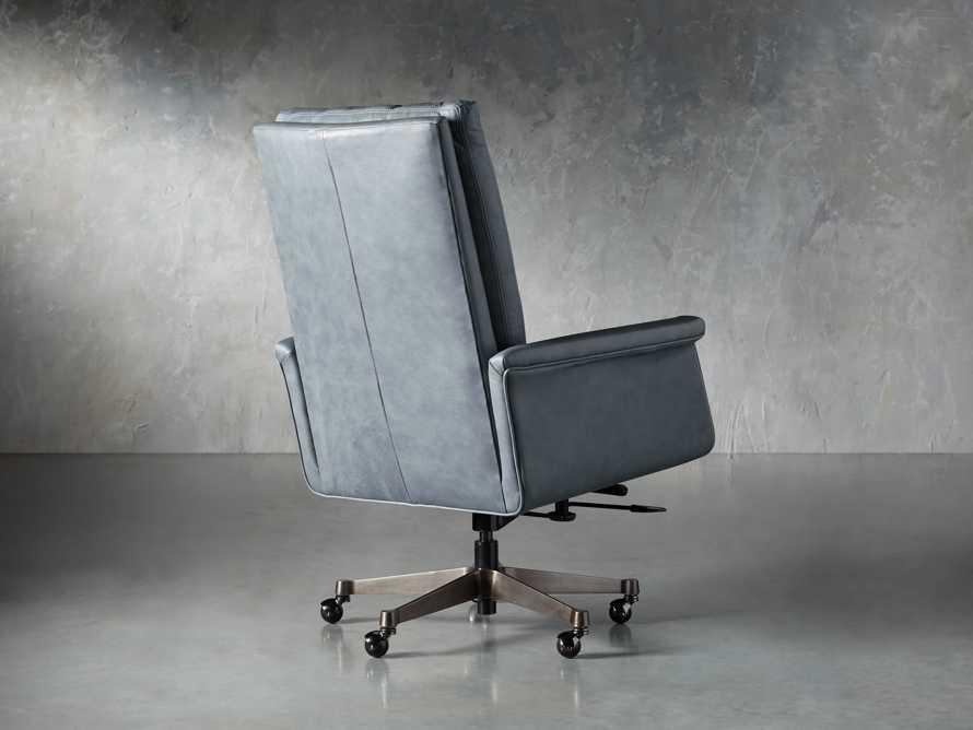 "Jayna Leather 29"" Desk Chair, slide 4 of 10"