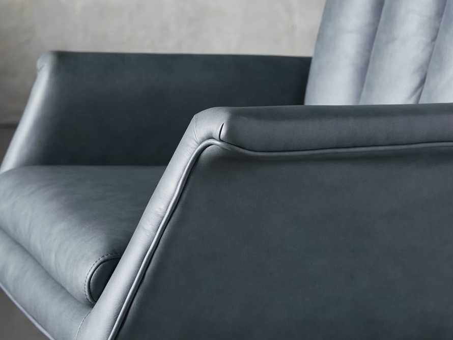 "Jayna Leather 29"" Desk Chair, slide 6 of 10"