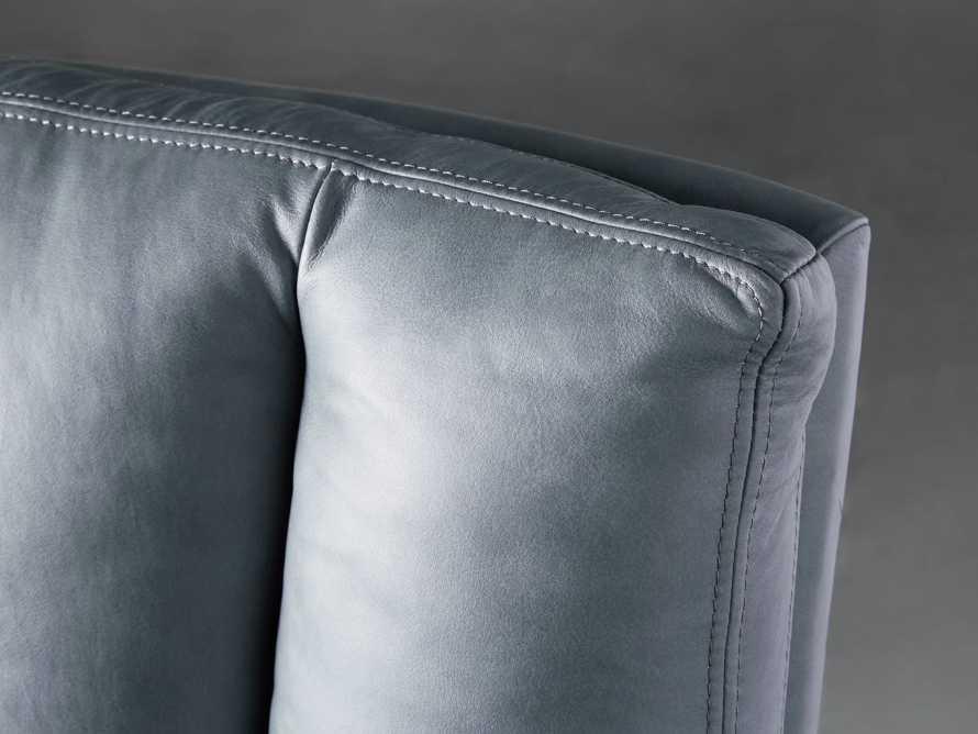"Jayna Leather 29"" Desk Chair, slide 8 of 10"