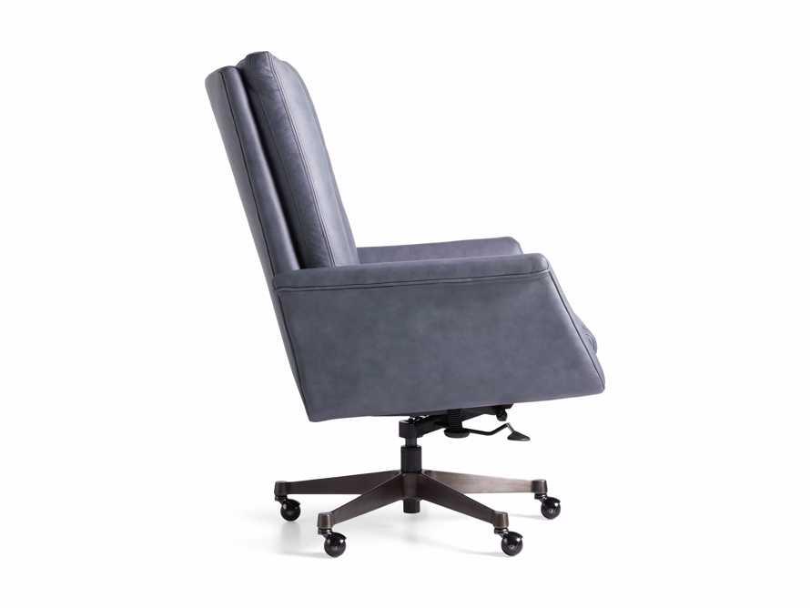 "Jayna Leather 29"" Desk Chair, slide 10 of 10"