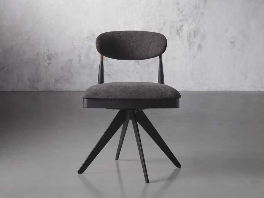 """Jagger 20"""" Desk Chair in Downy Charcoal, slide 1 of 9"""