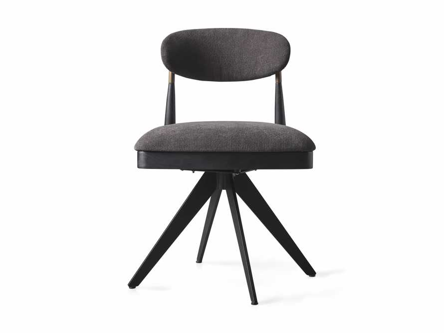 """Jagger 20"""" Desk Chair in Downy Charcoal, slide 8 of 9"""