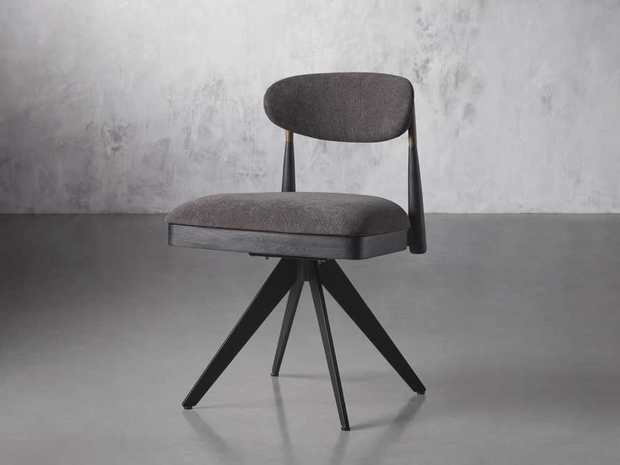 """Jagger 20"""" Desk Chair in Downy Charcoal, slide 2 of 9"""