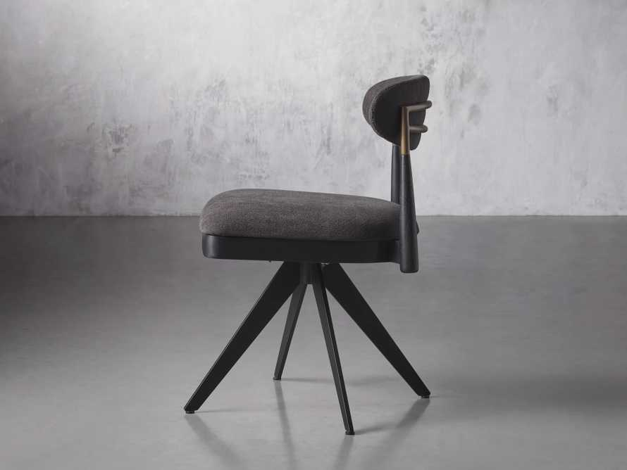 """Jagger 20"""" Desk Chair in Downy Charcoal, slide 3 of 9"""