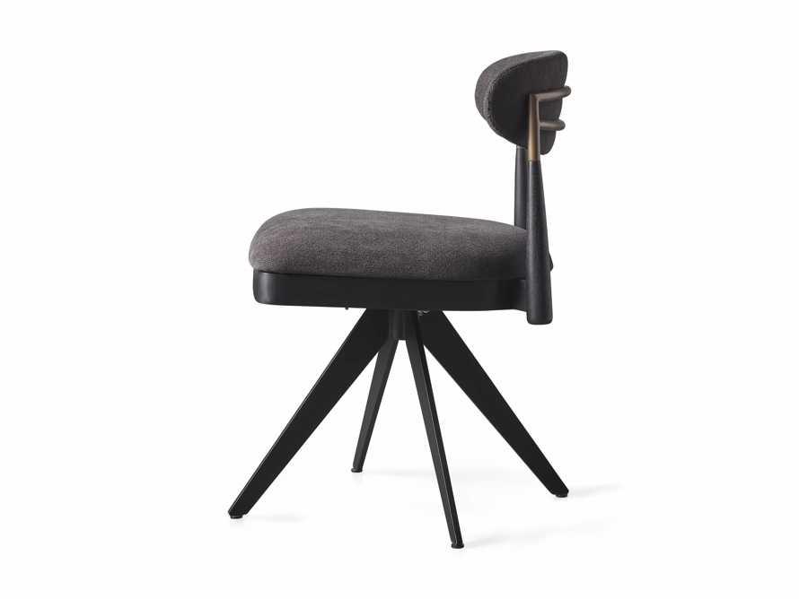 """Jagger 20"""" Desk Chair in Downy Charcoal, slide 9 of 9"""