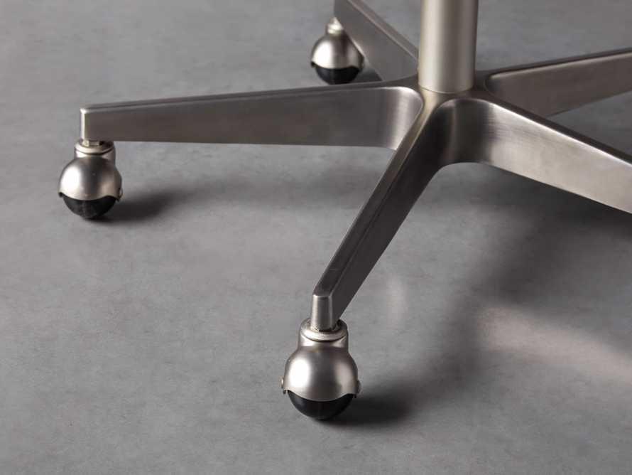 """Lain 22"""" Desk Chair in Indigo Linen, slide 8 of 10"""