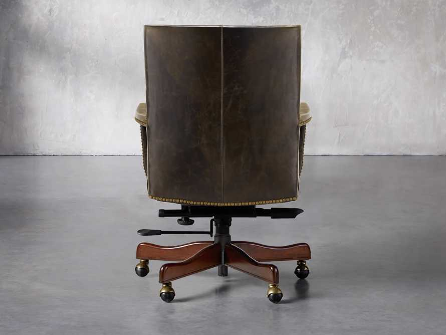 Martello Desk Chair in Brown, slide 4 of 4