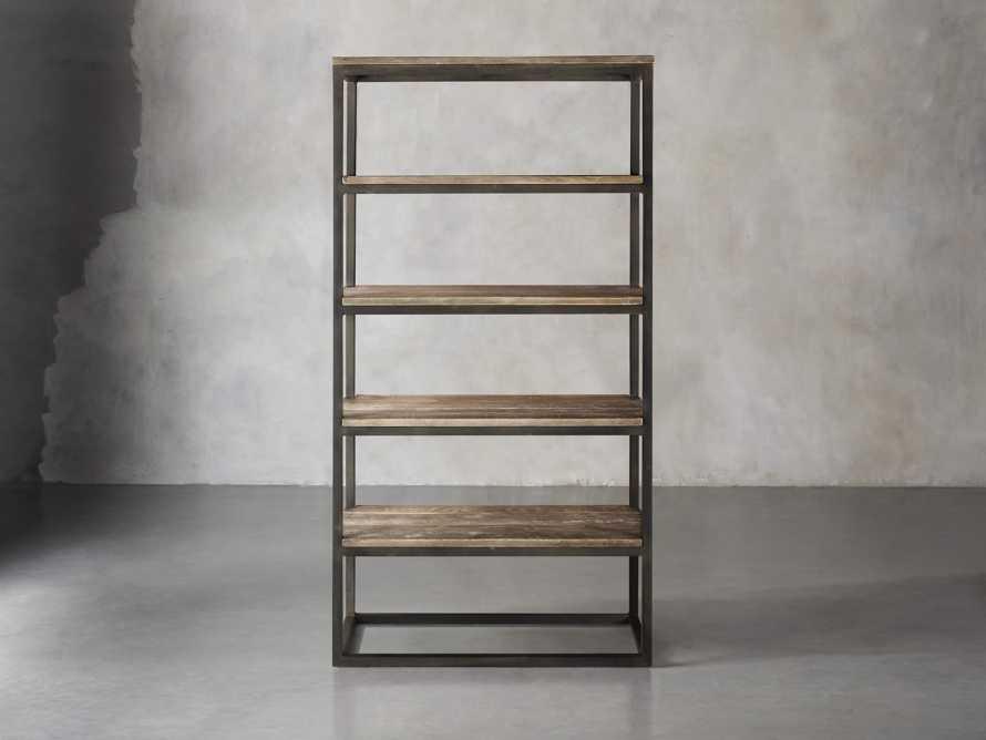 """Palmer 40"""" Bookcase In Natural Oak, slide 1 of 2"""