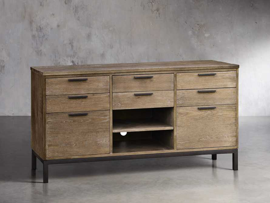 Palmer Credenza In Natural Oak, slide 1 of 2