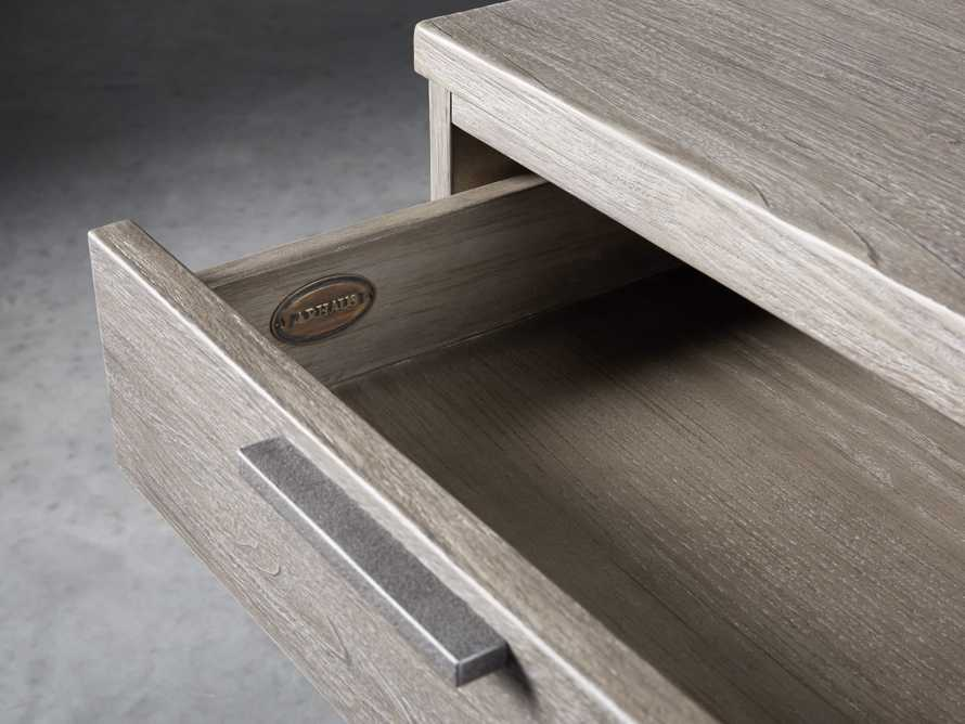"Palmer 19"" 2 Drawer File in Stone on Ash"