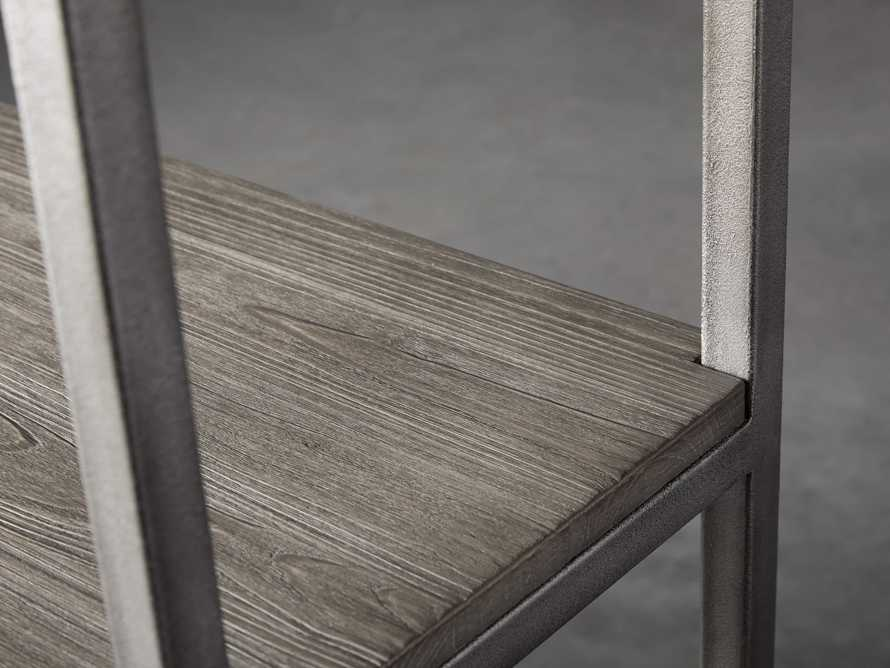 """Palmer 40"""" Bookcase in Stone on Ash, slide 4 of 8"""