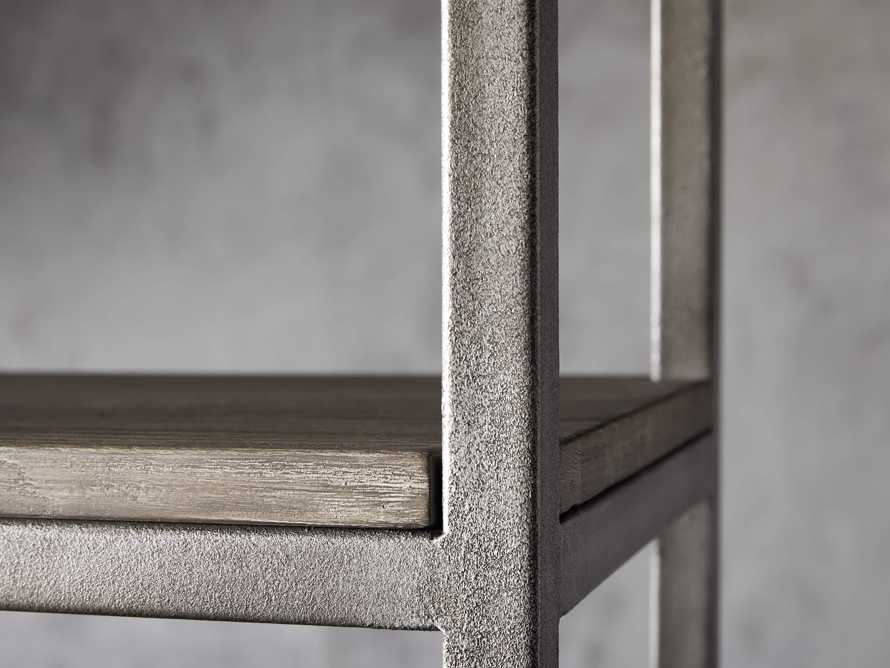 """Palmer 40"""" Bookcase in Stone on Ash, slide 6 of 8"""