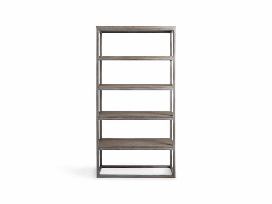 """Palmer 40"""" Bookcase in Stone on Ash, slide 7 of 8"""