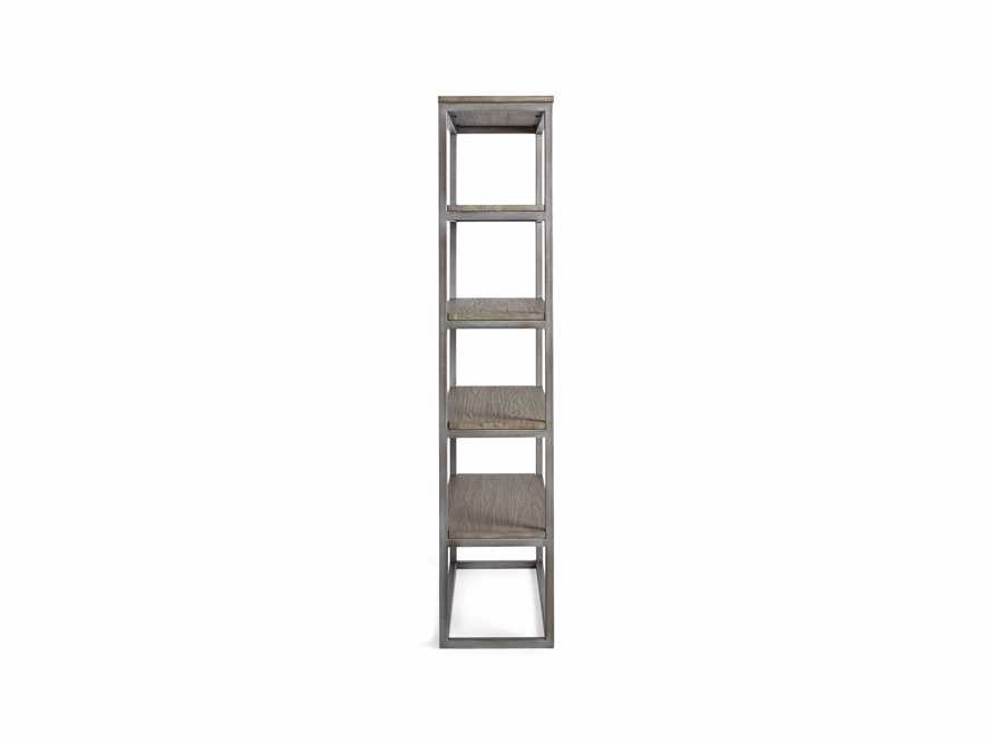 """Palmer 40"""" Bookcase in Stone on Ash, slide 8 of 8"""