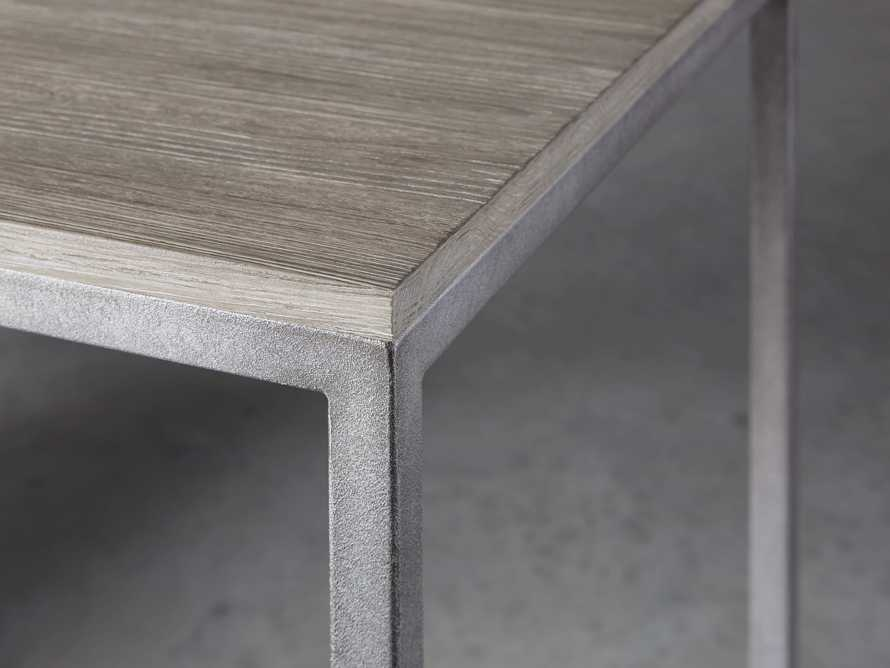 "Palmer 58"" Desk in Stone on Ash, slide 5 of 10"