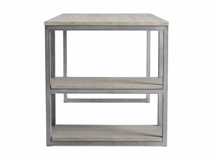 "Palmer 58"" Desk in Stone on Ash, slide 9 of 10"