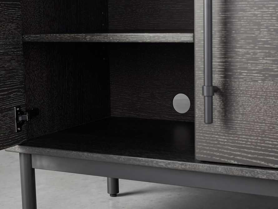 """Sullivan 38"""" Two Door Cabinet in Grey, slide 5 of 8"""