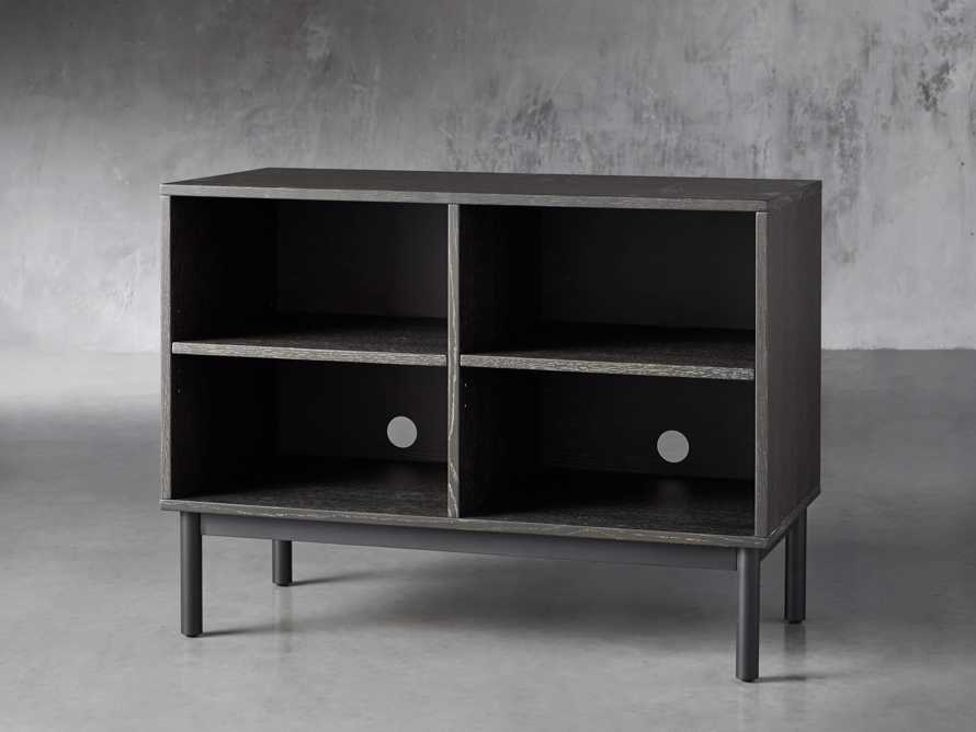 "Sullivan 38"" Open Cabinet in Grey"