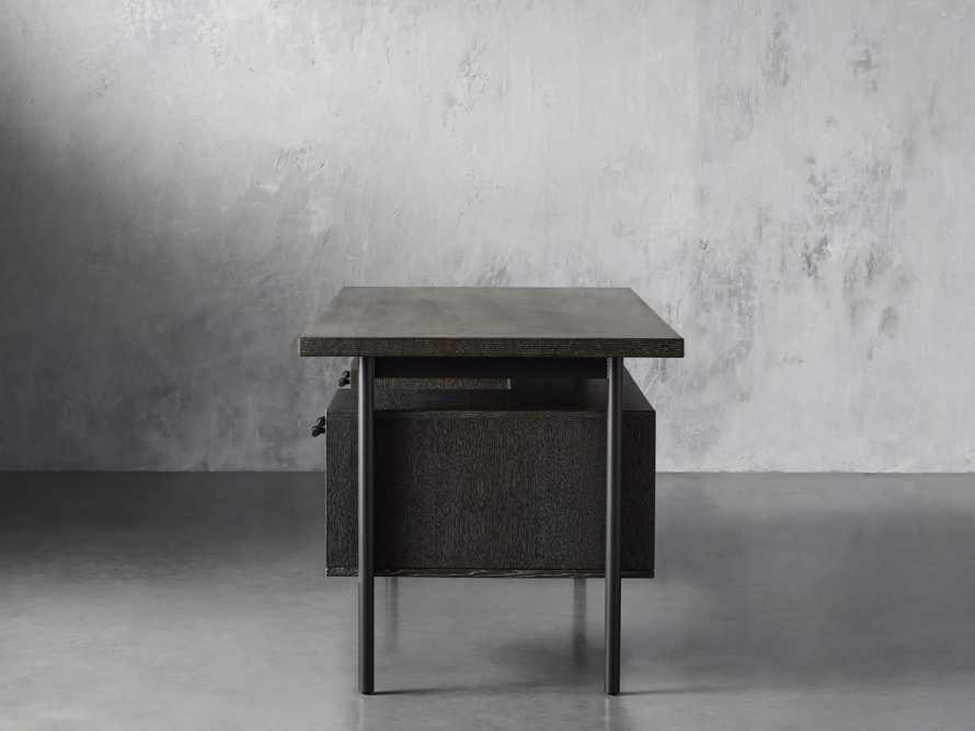 "Sullivan 71"" Executive Desk in Grey, slide 4 of 10"