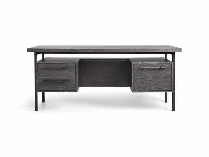 "Sullivan 71"" Executive Desk in Grey, slide 8 of 10"