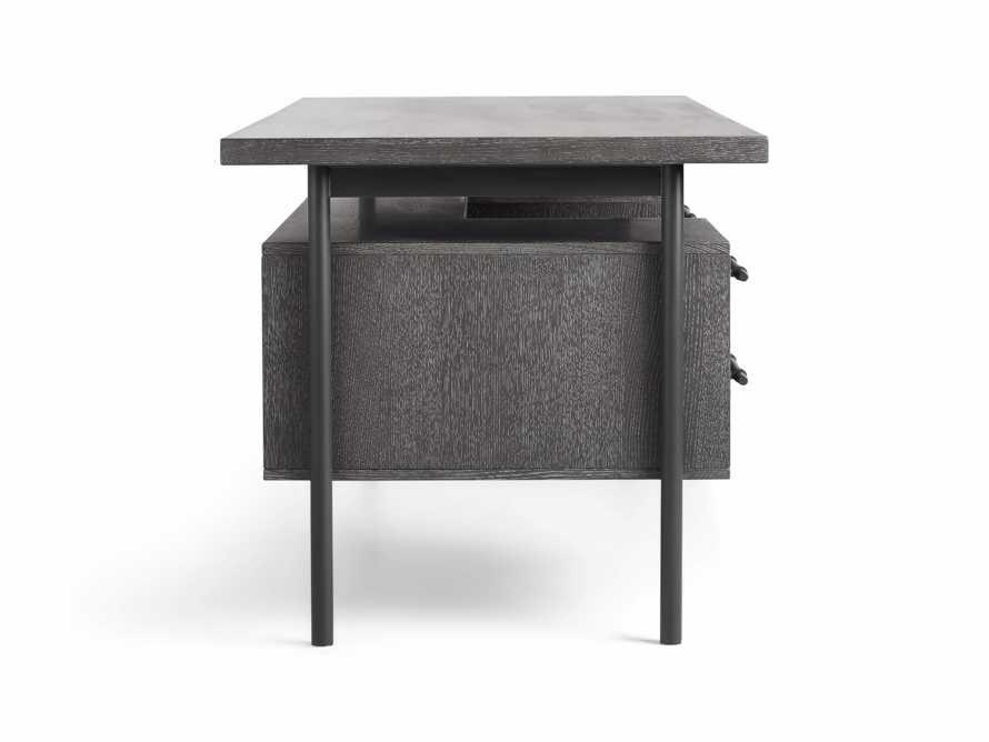 "Sullivan 71"" Executive Desk in Grey, slide 9 of 10"