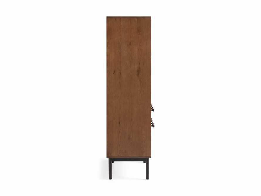 """Sullivan 38"""" Computer Cabinet in Northman Oak"""