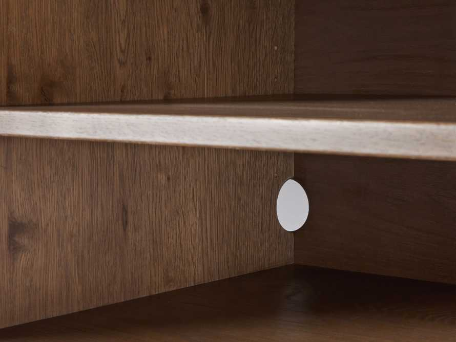 "Sullivan 38"" Hideaway Desk in Northman Oak, slide 8 of 10"