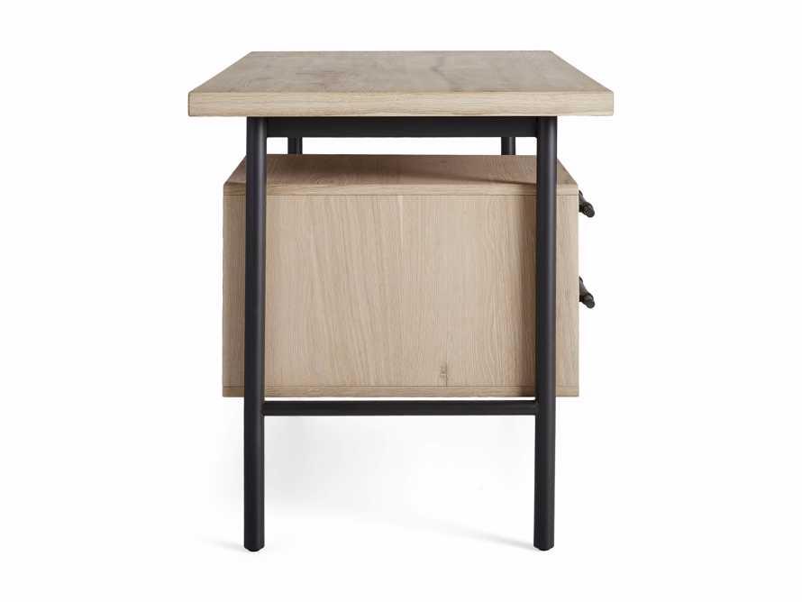 "Sullivan 52"" Writing Desk in Northman Sable, slide 9 of 9"
