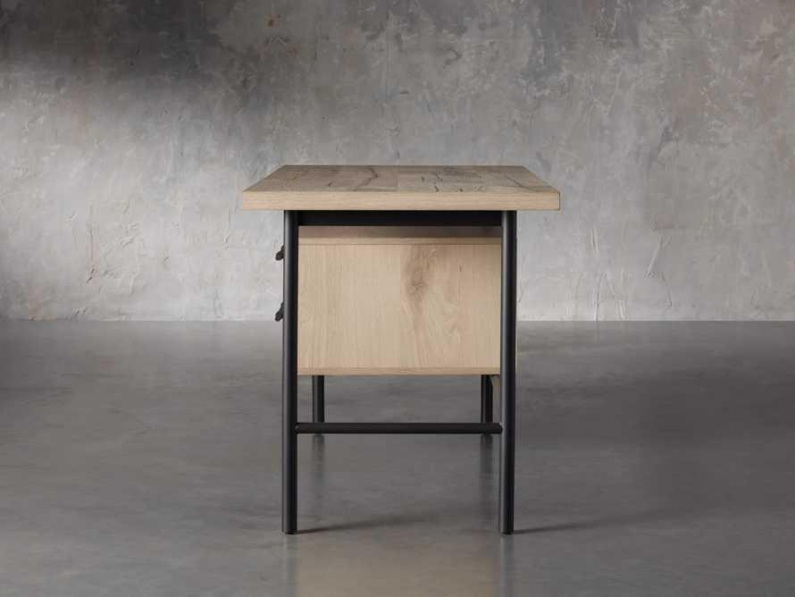 "Sullivan 52"" Writing Desk in Northman Sable, slide 4 of 9"