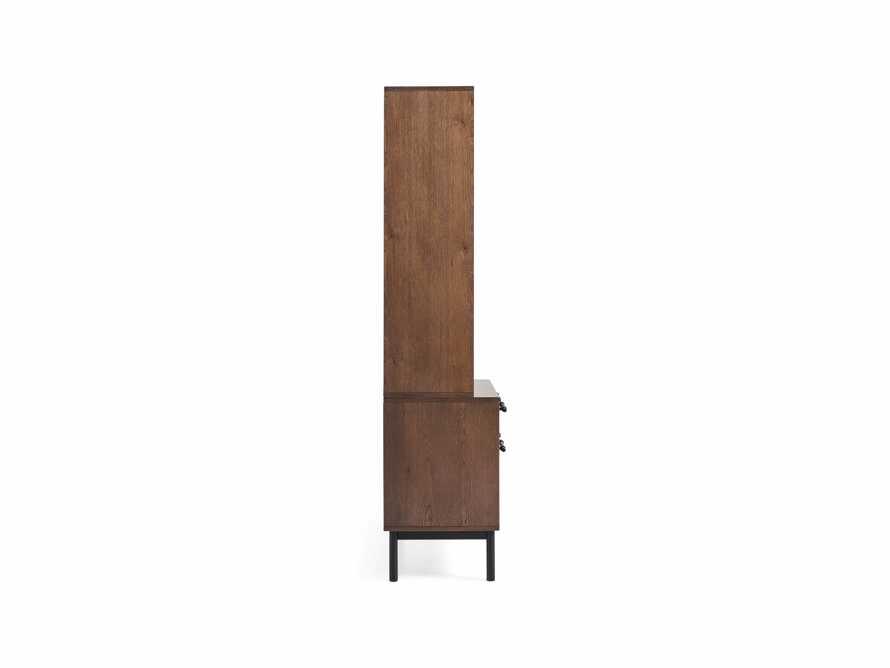 "Sullivan 38"" Single Bookcase with File Base, slide 6 of 7"