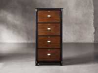 Telegraph 4 Drawer File In Spencer Brown