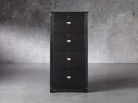 "Telegraph 28.75"" 4 Drawer File in Ebony"