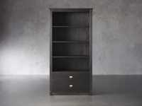 "Telegraph 40.25"" Wide Bookcase in Ebony"