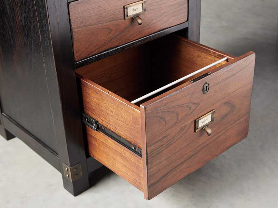 Telegraph Corner Desk in Spencer Brown, slide 7 of 12
