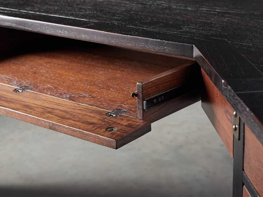 Telegraph Corner Desk in Spencer Brown, slide 8 of 12