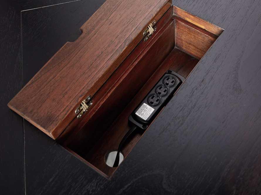 Telegraph Corner Desk in Spencer Brown, slide 9 of 12