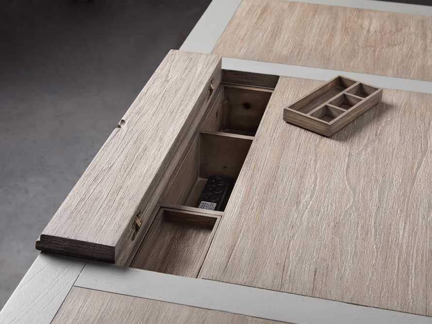 """Telegraph 70"""" Small Desk in Stratus, slide 11 of 14"""