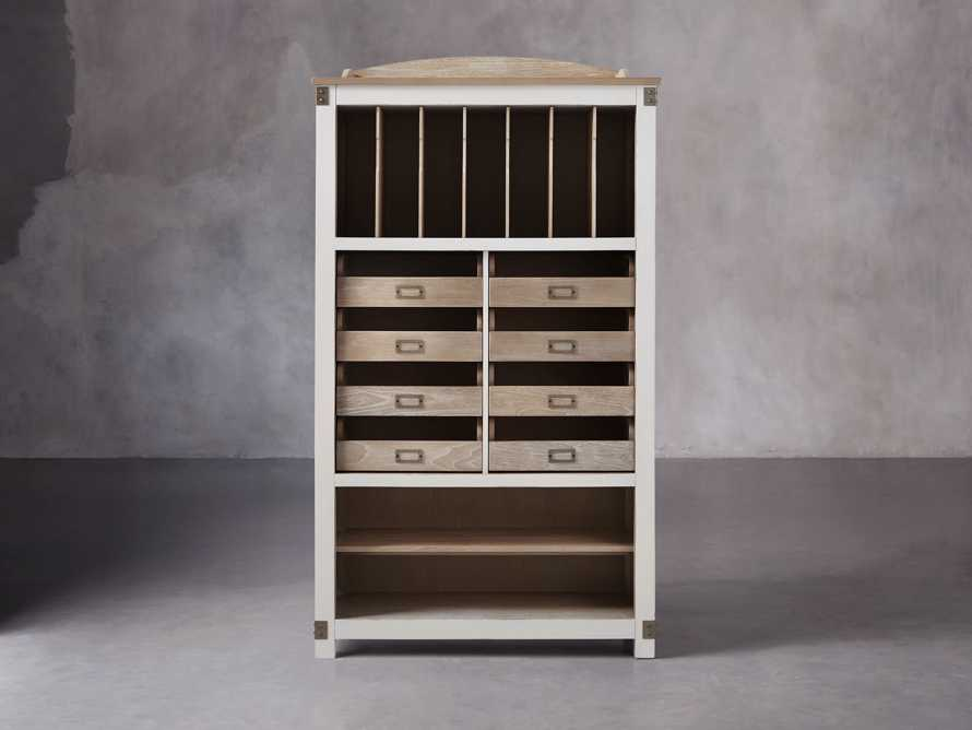 Telegraph Storage Cabinet In Acacia White, slide 2 of 6