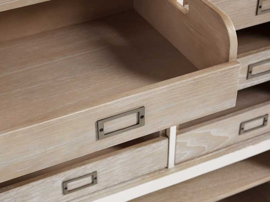 Telegraph Storage Cabinet In Acacia White, slide 6 of 6
