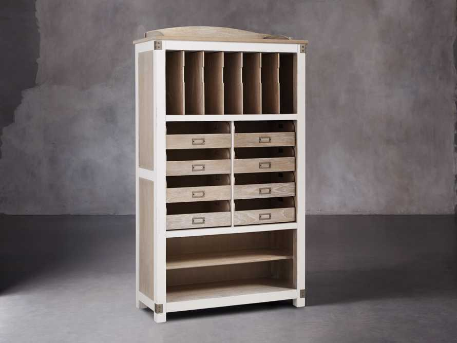 Telegraph Storage Cabinet In Acacia White, slide 3 of 6