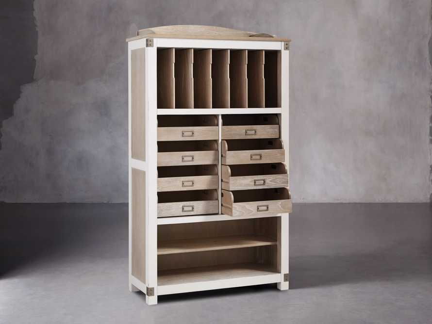 Telegraph Storage Cabinet In Acacia White, slide 4 of 6