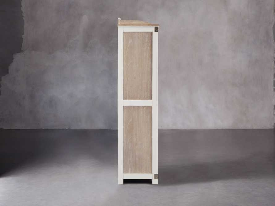 Telegraph Storage Cabinet In Acacia White, slide 5 of 6