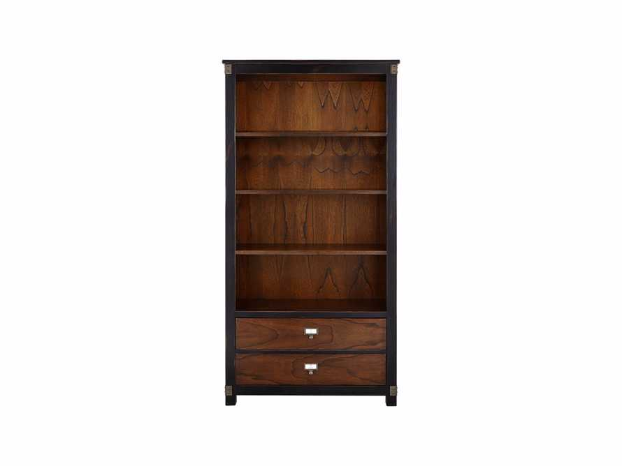 Telegraph Wide Bookcase In Spencer Brown, slide 2 of 2
