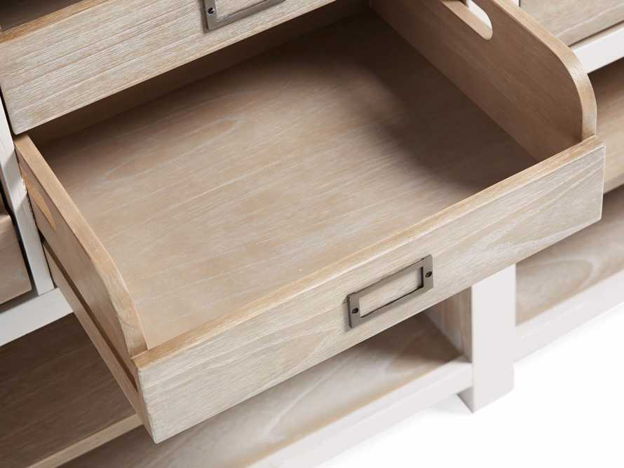 Telegraph Lateral Storage Cabinet in White, slide 6 of 6