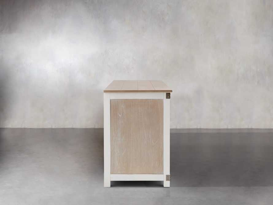 Telegraph Lateral Storage Cabinet in White, slide 5 of 6