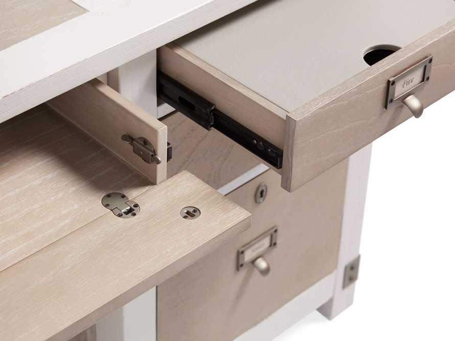 Telegraph Small Desk in Acacia White, slide 8 of 9
