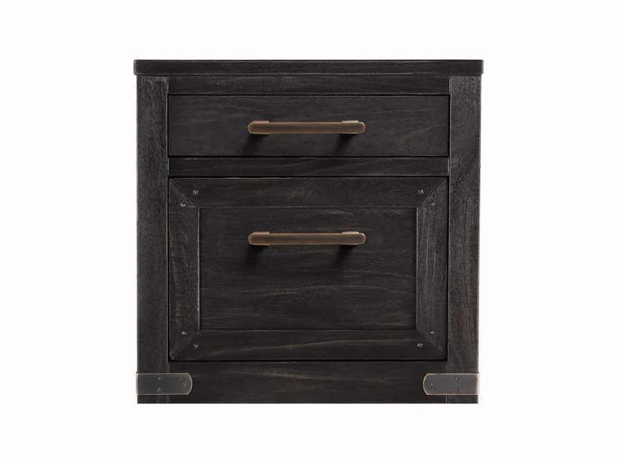 "Tremont 22"" 2 Drawer File Cabinet in Dry Branch Black"