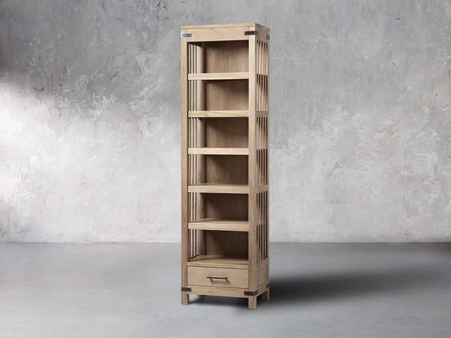"Tremont 24"" Bookcase In Dry Branch Natural, slide 2 of 5"