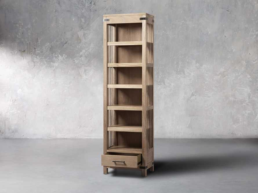 "Tremont 24"" Bookcase In Dry Branch Natural, slide 3 of 5"