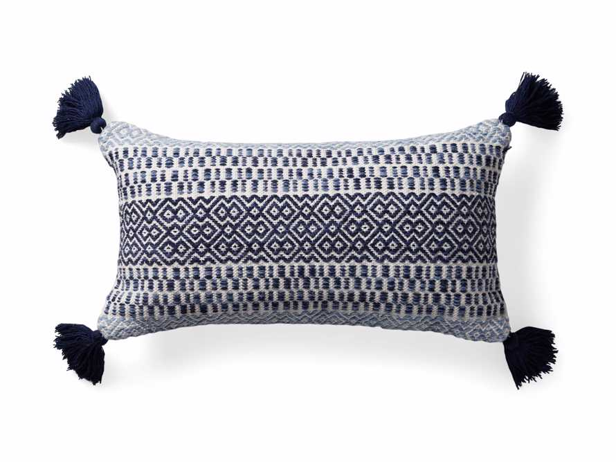 Alix Tassel Outdoor Lumbar Pillow, slide 4 of 8